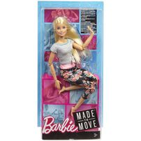 Barbie Made To Move Fashion Play - Assorted