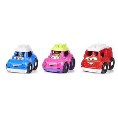 Mega Bloks First Builders Lil Vehicles Mixed - Assorted