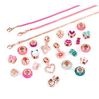 Make it real Halo Charms Bracelets Think Pink