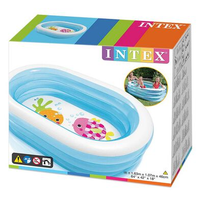 Intex Oval Whale Fun Pool - Assorted