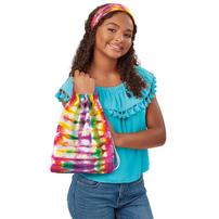 Cra-Z-Art Shimmer N Sparkle Tie Dye Fashion Tote & Headband Kit