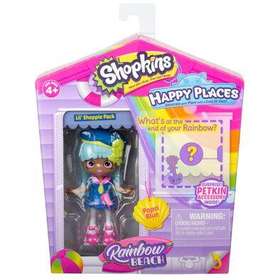 Shopkins Happy Places Lil' Shoppie Pack Popsi Blue