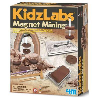 4M KidzLabs Magnet Mining