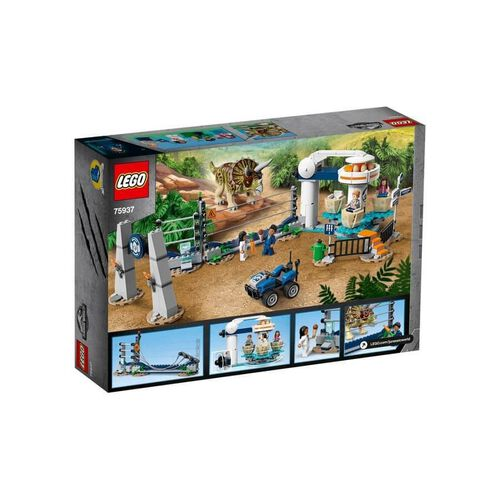 LEGO Jurassic World Triceratops Rampage 75937
