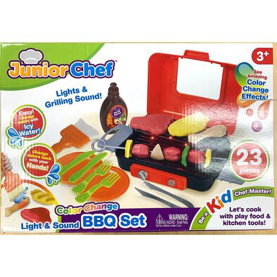Junior Chef 21 Pieces BBQ Grill Set