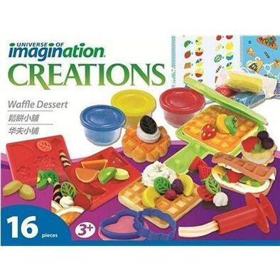 Universe Of Imagination -Waffle Dessert