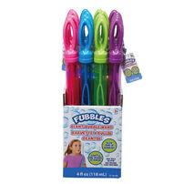 Fubbles 4oz Bubble Wand - Assorted
