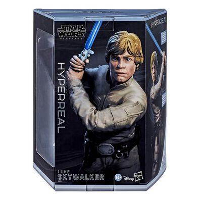 Star Wars The Black Series Hyperreal Luke Skywalker Toy Action Figure