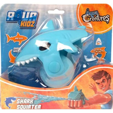 Aqua Creatures Shark Squirterz Blue