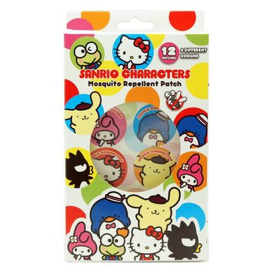 Sanrio Characters Mosquito Repellent Patch 12 Patches