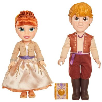Disney Frozen 2 Anna and Kristoff 2 Pack