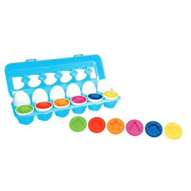 Little Hero Mix and Match Eggs 12 Pieces