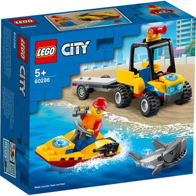 Lego City Great Vehicles Beach Rescue ATV 60286