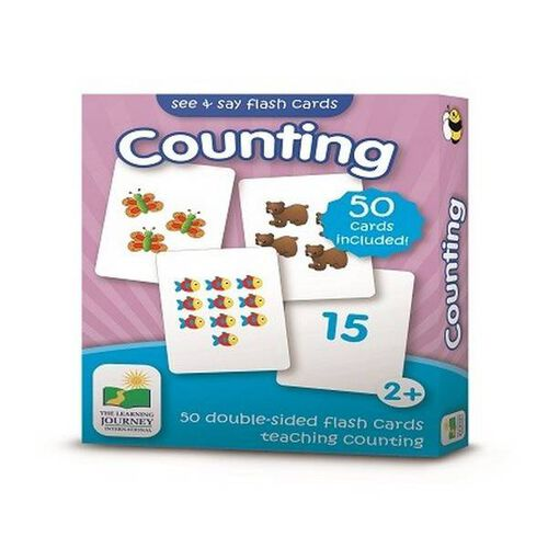 The Learning Journey Flashcards-Counting