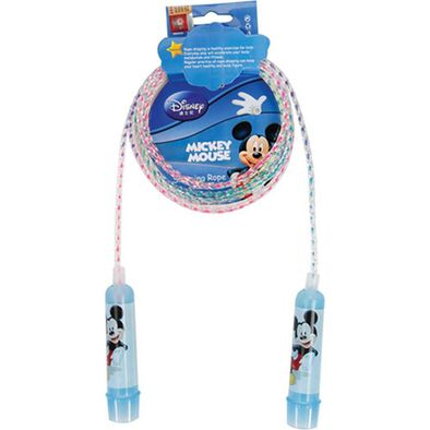 DisneyMickey Mouse Plastic Rainbow Jump Rope