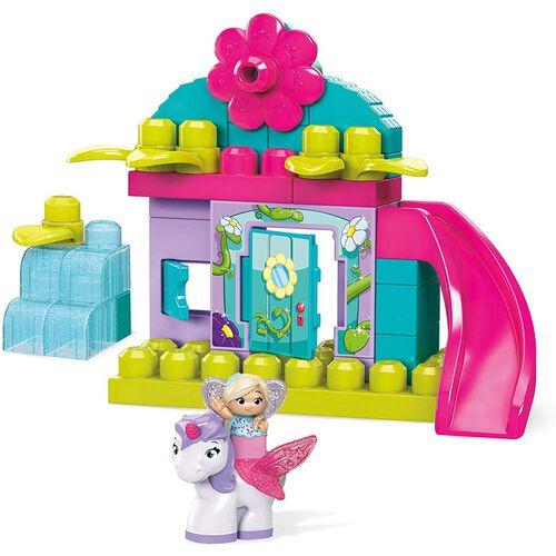 Mega Bloks First Builders Flower Fairies Enchanted Cottage