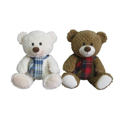 Animal Alley 15.5 Inch Bear W/ Scarf