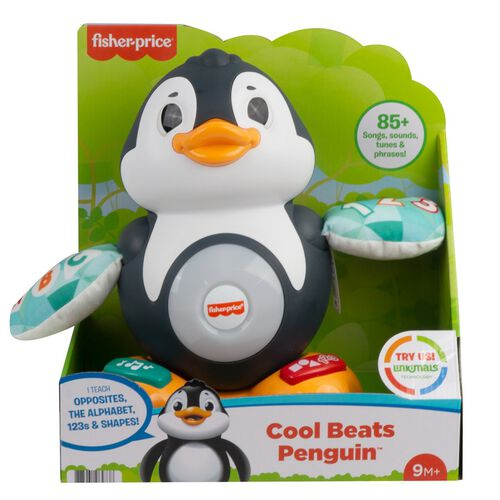 Fisher-Price Linkimals Cool Beats Penguin Toy
