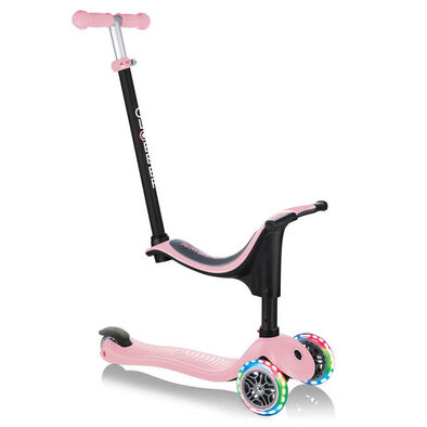 Globber Go•Up Sporty Lights Pastel Pink Toddler Scooter