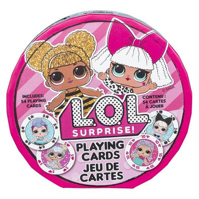 L.O.L. Surprise Playing Cards
