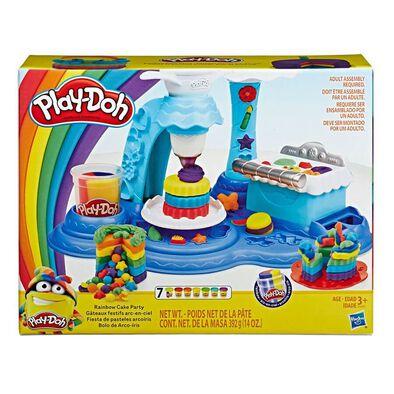 Play-Doh Rainbow Cake Party