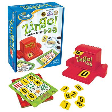 Thinkfun Zingo! 1-2-3 Game