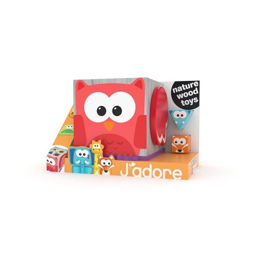 J'adore Little Owl Wings Shape Sorter