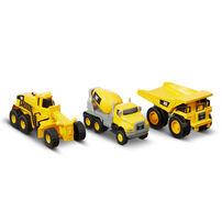 Cat Metal Series Vehicle 3 Pack - Assorted