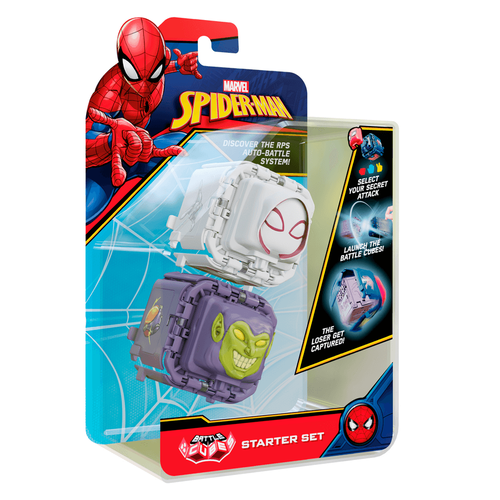 Marvel Spider-Man Battle Cube Spider-Gwen vs. Green Goblin 2 Pack