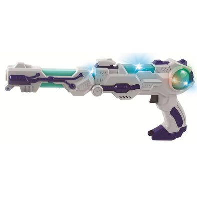 True Heroes 2 In 1 Space Blaster (Grey)