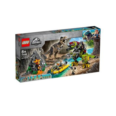 LEGO Jurassic World T. rex vs Dino-Mech Battle 75938