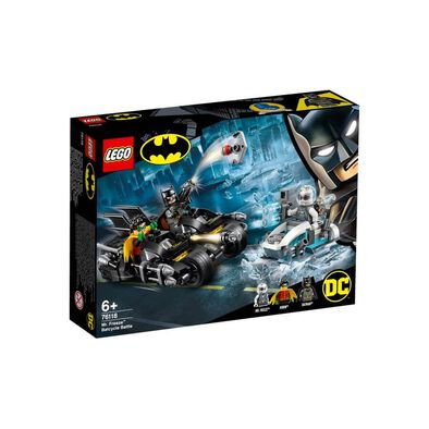LEGO DC Batman Mr. Freeze Batcycle Battle 76118
