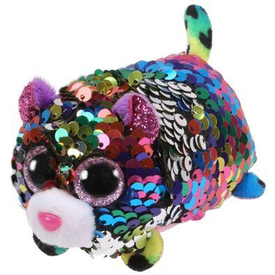 Ty Teeny Tys Dotty Sequin Multicoloured Leopard