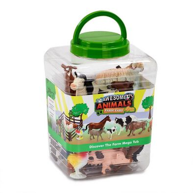 Awesome Animals Discover the Farm Jumbo Tub