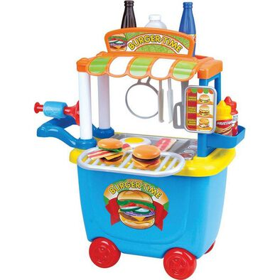 Just Like Home Gourmet Burger Cart