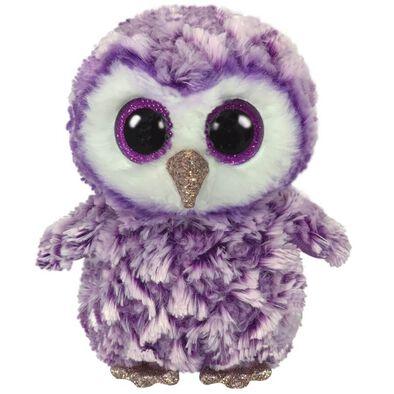 Ty Beanie Boos 13 Inch Medium Size Moonlight Purple Owl