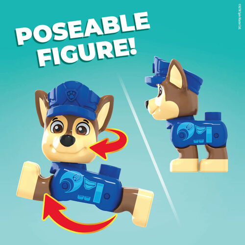 Mega Bloks Paw Patrol Chase's City Police Cruiser