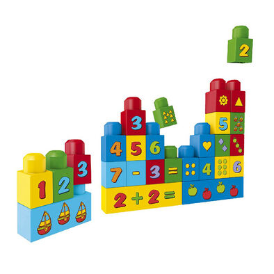 Mega Bloks First Builders Build N Learn Bags - Assorted