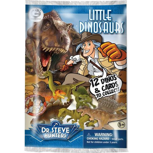 Uncle Milton Dr. Steve Hunters Little Dinosaurs Blind Pack