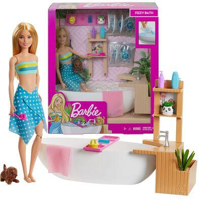 Barbie Fizzy Bath Doll and Play Set