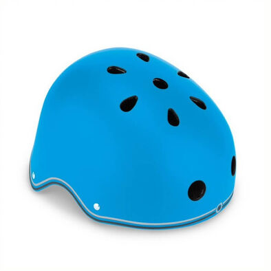 Globber Helmet Primo Lights Sky Blue