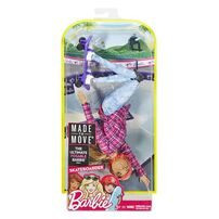 Barbie Made To Move Doll - Assorted
