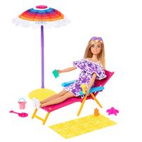 Barbie Loves The Ocean Beach-Themed Playset Beach Day