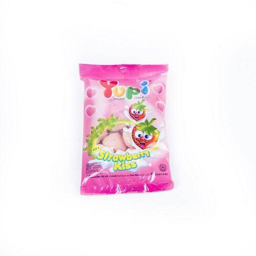 Yupi Gummy Candies - Strawberry Kiss 45G
