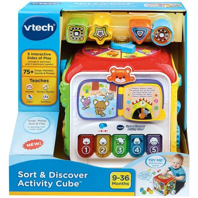 Sort & Discovery Activity Cube