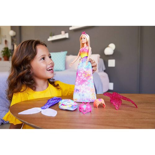 Barbie Dreamtopia Dress Up Doll Gift Set Blonde