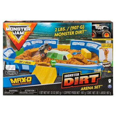 Monster Jam Kinetic Dirt Arena Playset