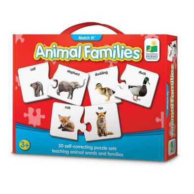 The Learning Journey Match It! Animal Families