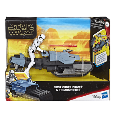 Star Wars First Order Driver and Treadspeeder