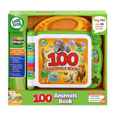 Leapfrog 100 Animals Book